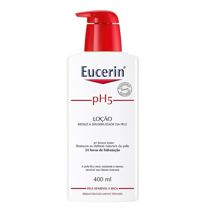 PH5 LOÇÃO HIDRATANTE PELE SENSÍVEL 400ml - Eucerin