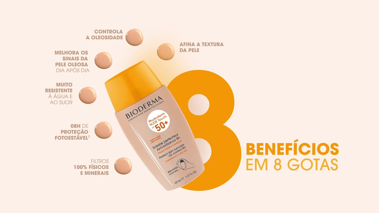 PHOTODERM NUDE TOUCH FPS50+ 40ml - Bioderma