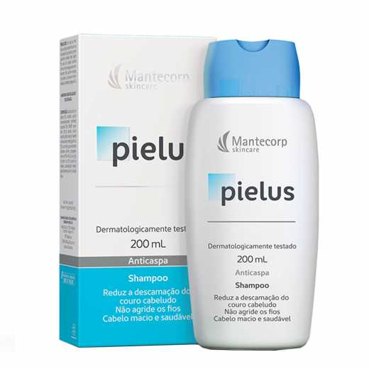 PIELUS SHAMPOO ANTICASPA 200ml - Mantecorp