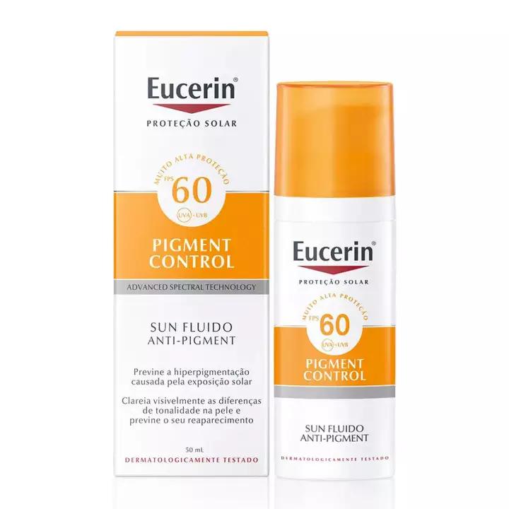 EUCERIN PIGMENT CONTROL SUN FLUIDO FPS60 50ml