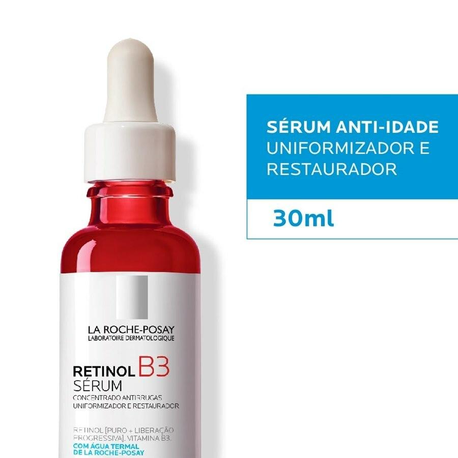Retinol B3 serum 40ml - La Roche Posay - Reduz rugas acentuadas, uniformiza a tonalidade e textura da pele, combate ao fotoenvelhecimento e melhora a firmeza.