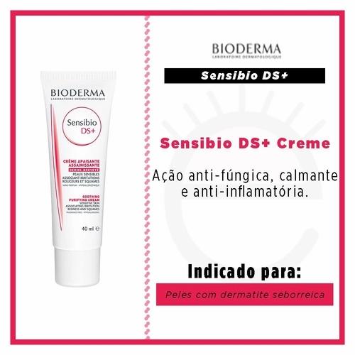 SENSIBIO DS+ CREME ANTIVERMELHIDÃO 40ml - Bioderma