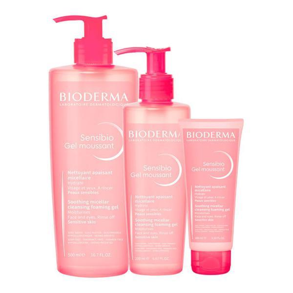 Sensibio Gel Moussant Bioderma - Sabonete para lavar face peles sensiveis e avermelhadas como pós procedimentos estéticos