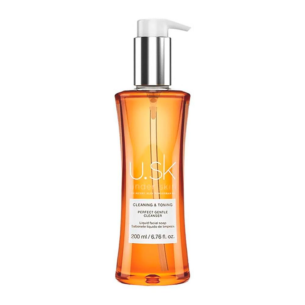 USK skin perfect Gentle cleanser Sabonete liquido 200ml - Under skin