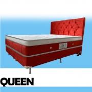 Colchão Magnético Queen Size Infra Vermelho Anti Germes e Anti Mofo