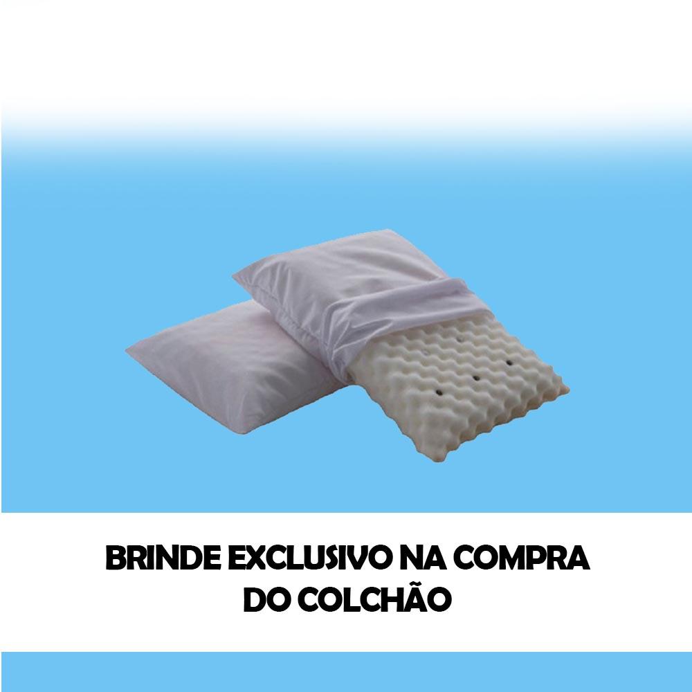 Cama Box Baú + Colchão Magnético Casal Elegancy Massageador Bio quântico com 40 Tipos de Massagens
