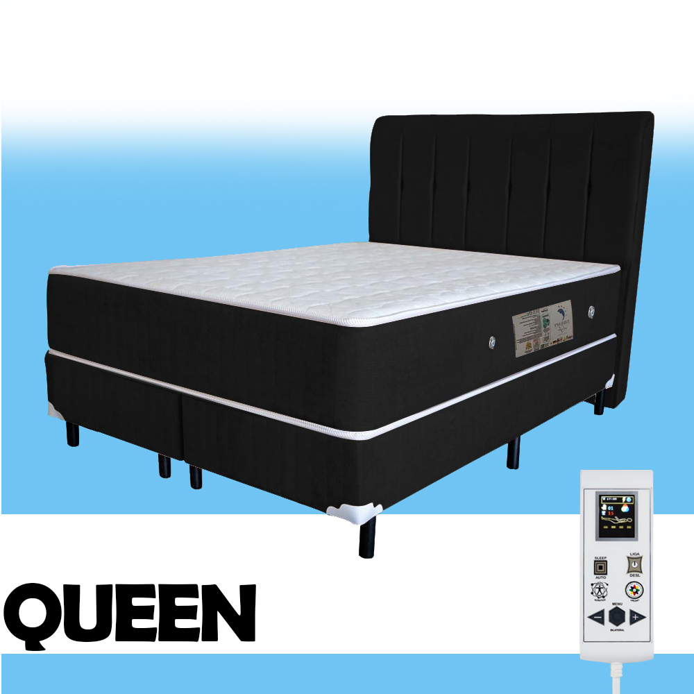 Colchão Magnético Queen Size Elegancy Massageador Bio quântico com 40 Tipos de Massagens