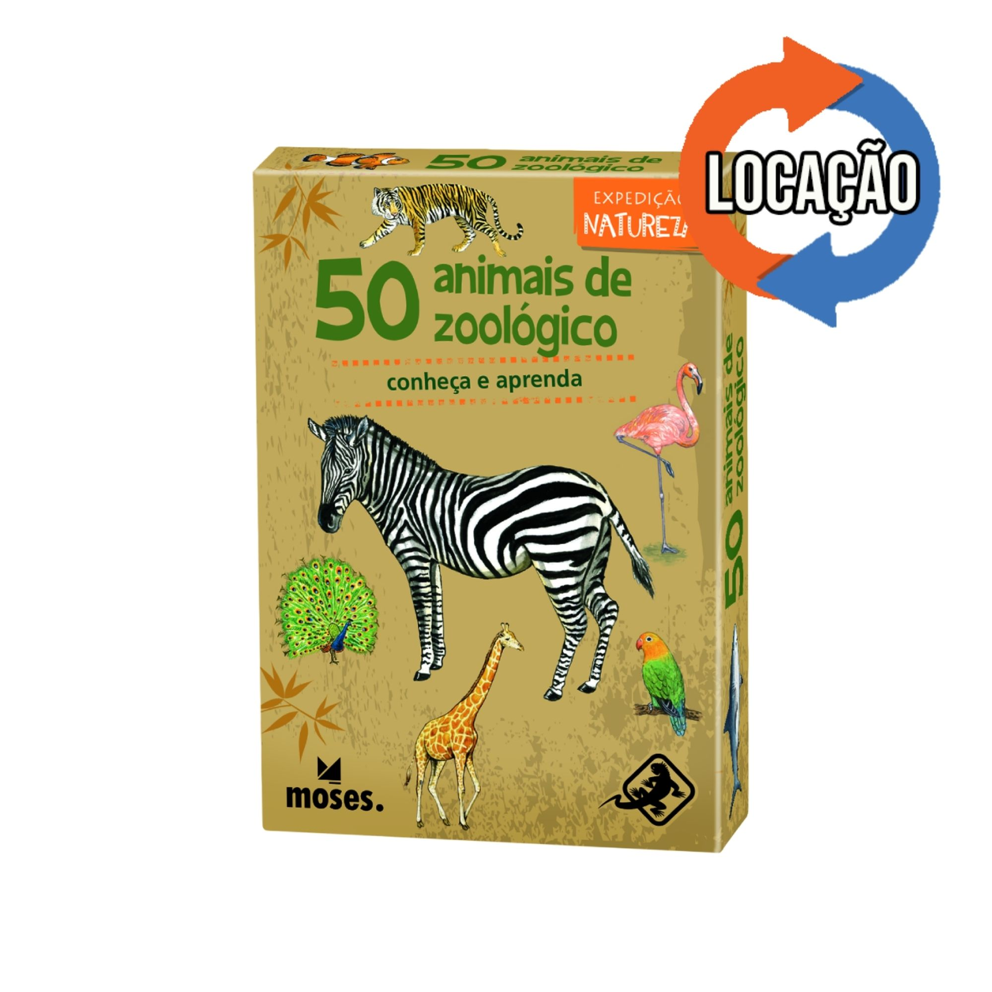 50 Animais de Zoológico - Conheça e Aprenda Expedição Natureza (Locação)