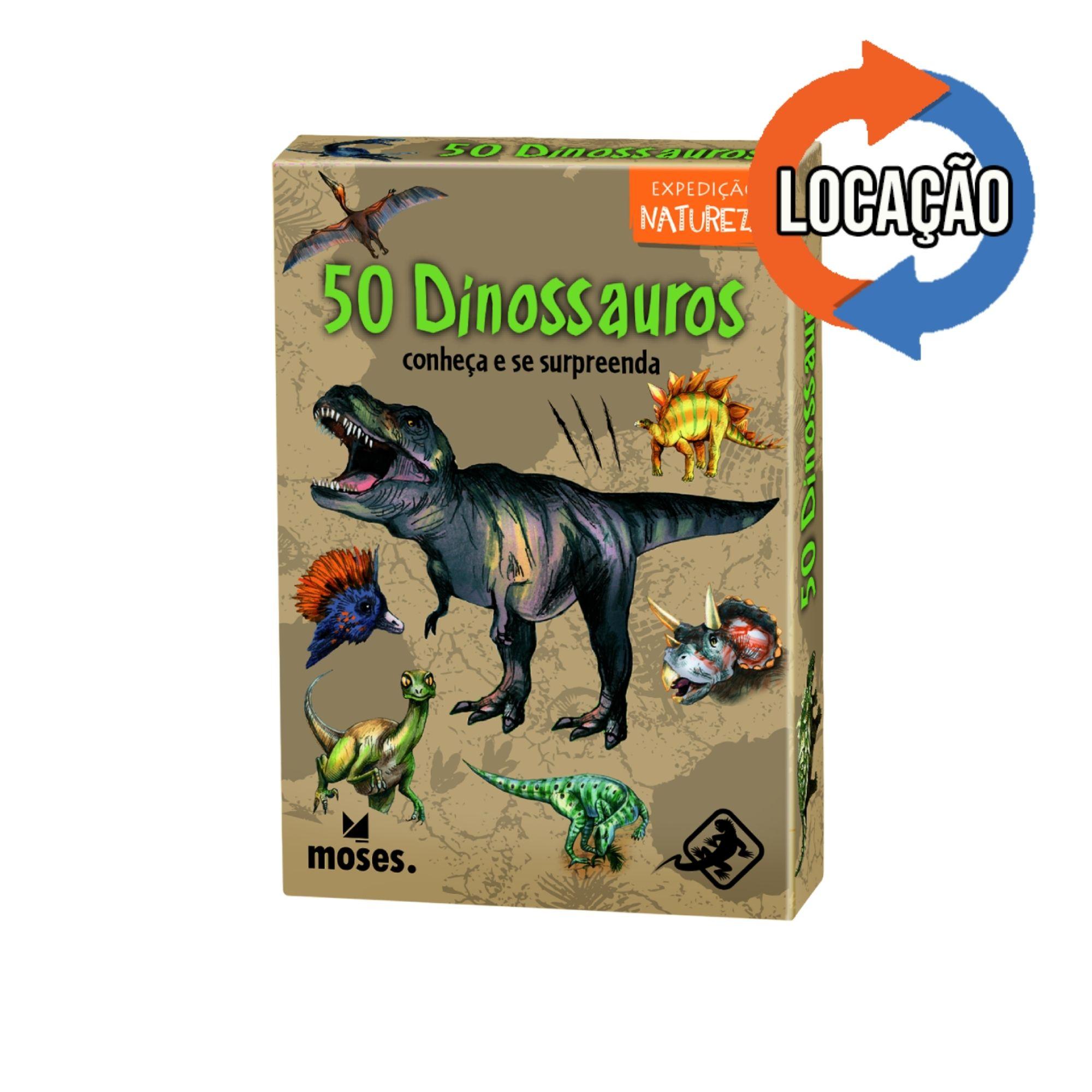 50 Dinossauros - Conheça e se Surpreenda Expedição Natureza (Locação)