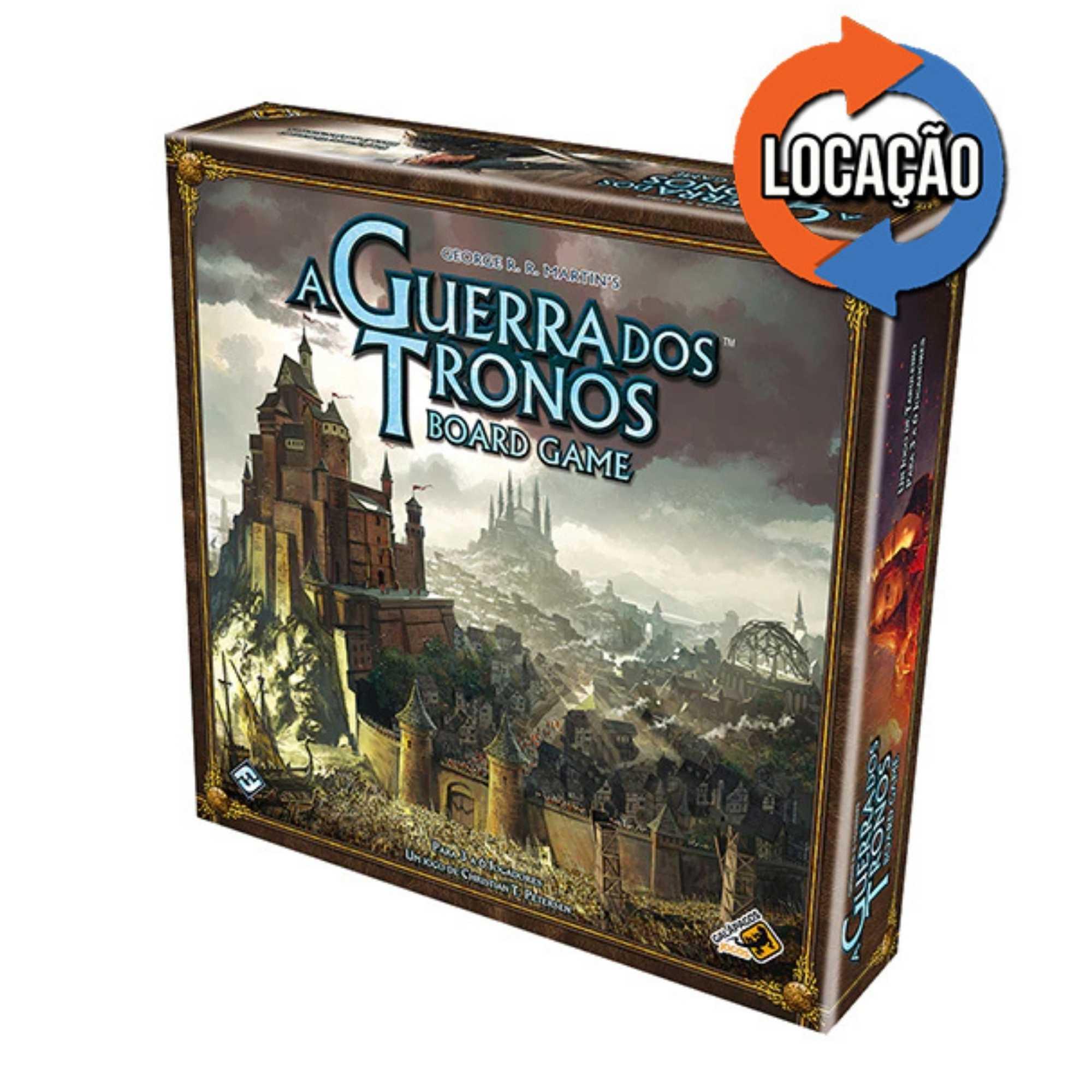 A Guerra dos Tronos: Board Game 2ª Ed (Locação)