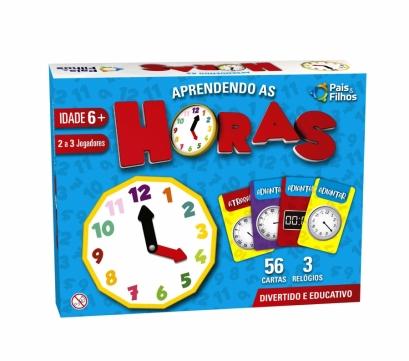 Aprendendo as Horas - Escolar - Pais & Filhos