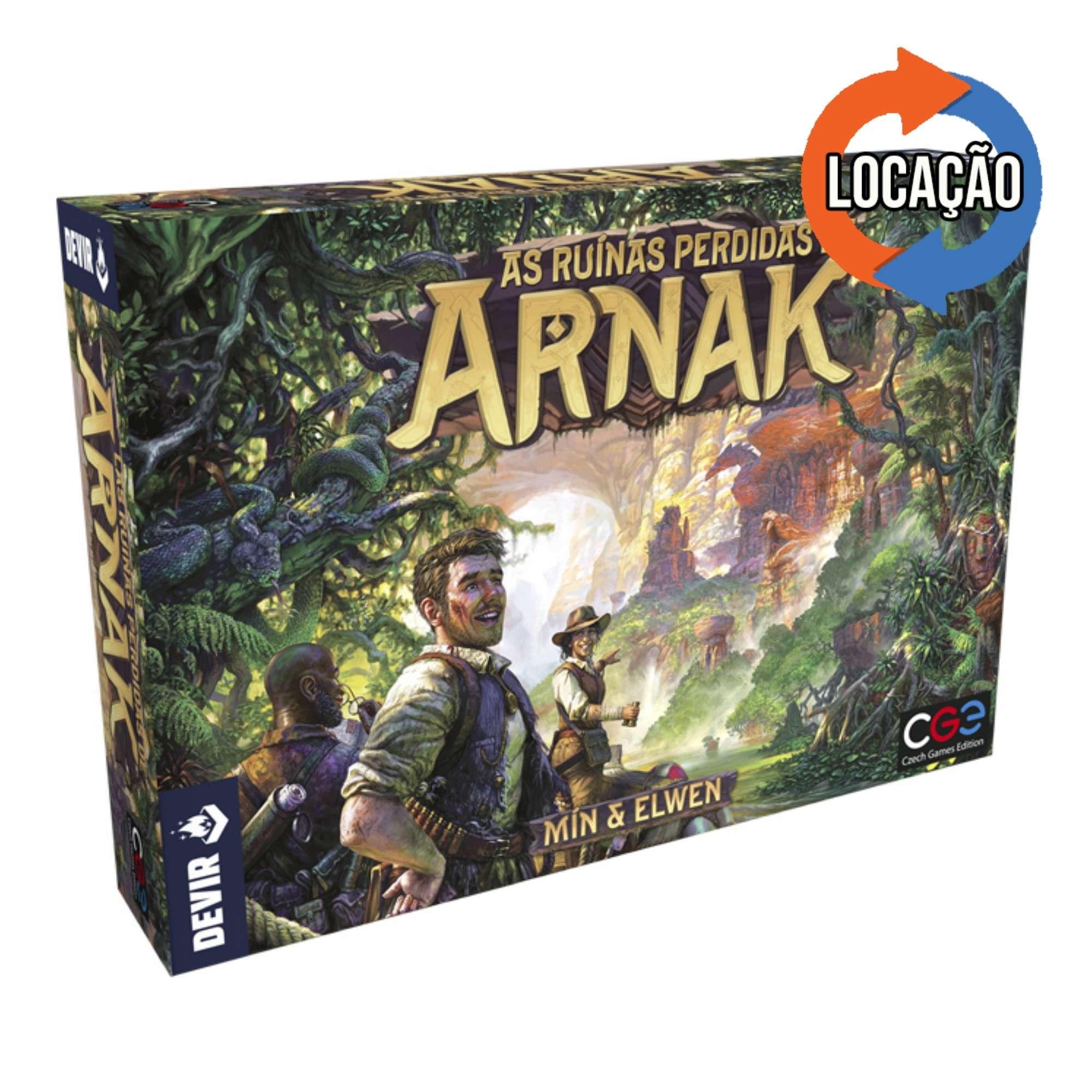 As Ruinas Perdidas de Arnak (Locação)