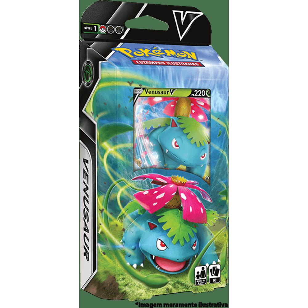 Baralho Pokémon Batalha V Venusaur V - Starter Deck
