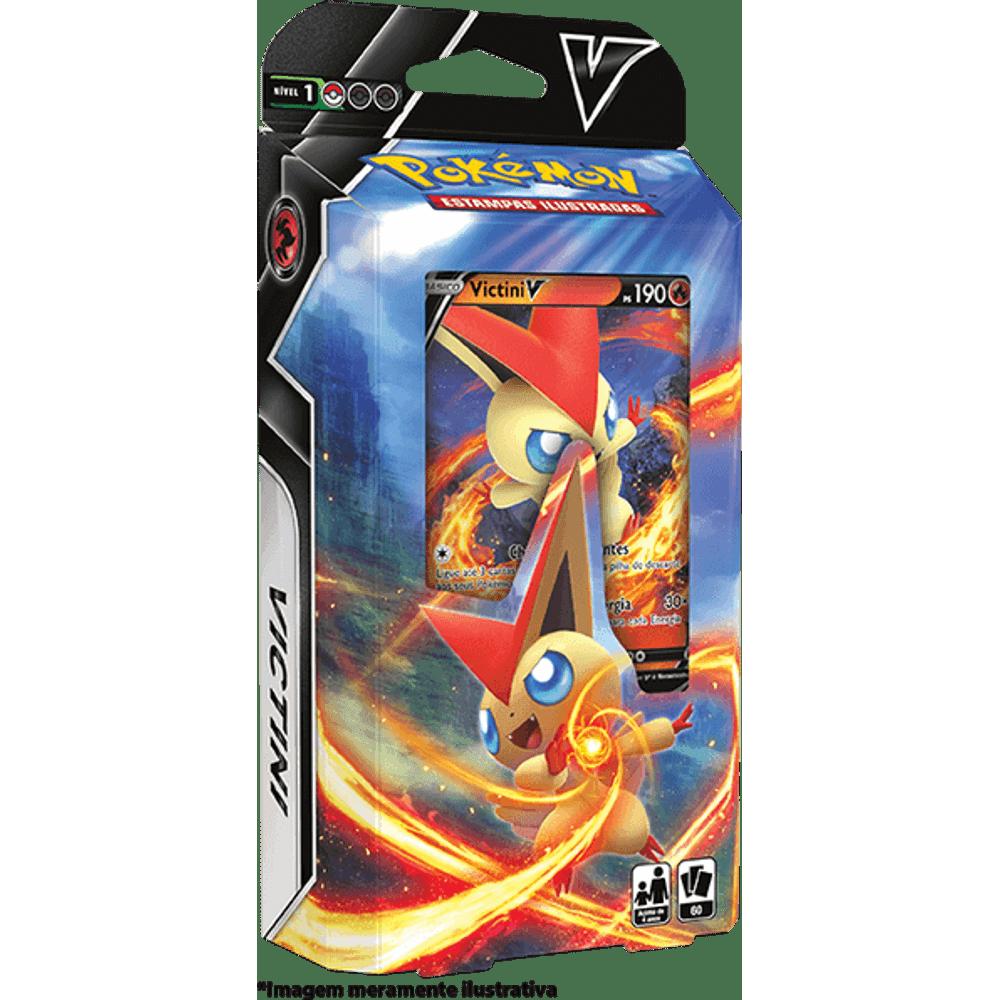 Baralho Pokémon Batalha V Victini V - Starter Deck