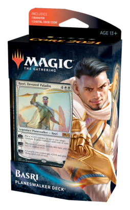 Basri, Paladino Devoto - Deck de Planeswalker - Magic 2021