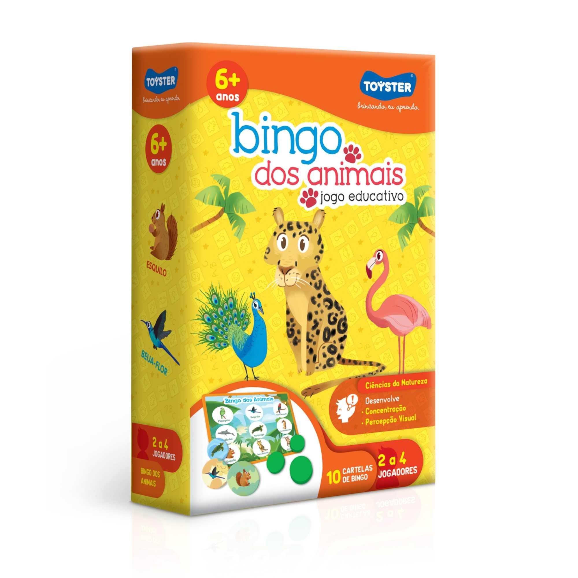 Bingo dos Animais