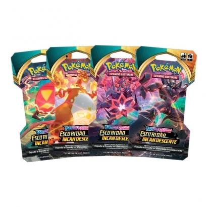 Booster Avulso Pokémon - Espada e Escudo - Escuridão Incandescente