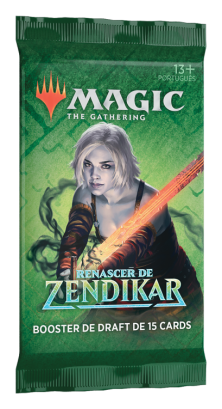 Booster Avulso Renascer de Zendikar (Português) - Magic: The Gathering