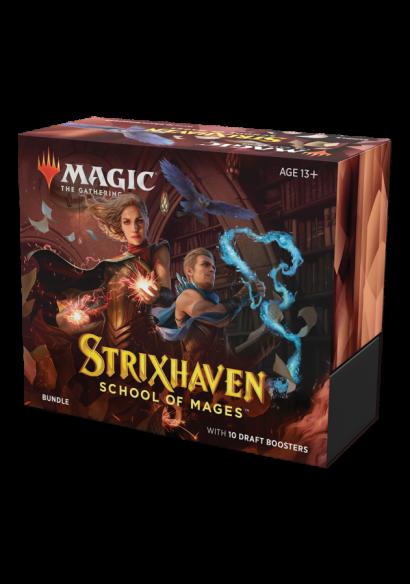 Bundle Strixhaven - Escola de Magos (Inglês)