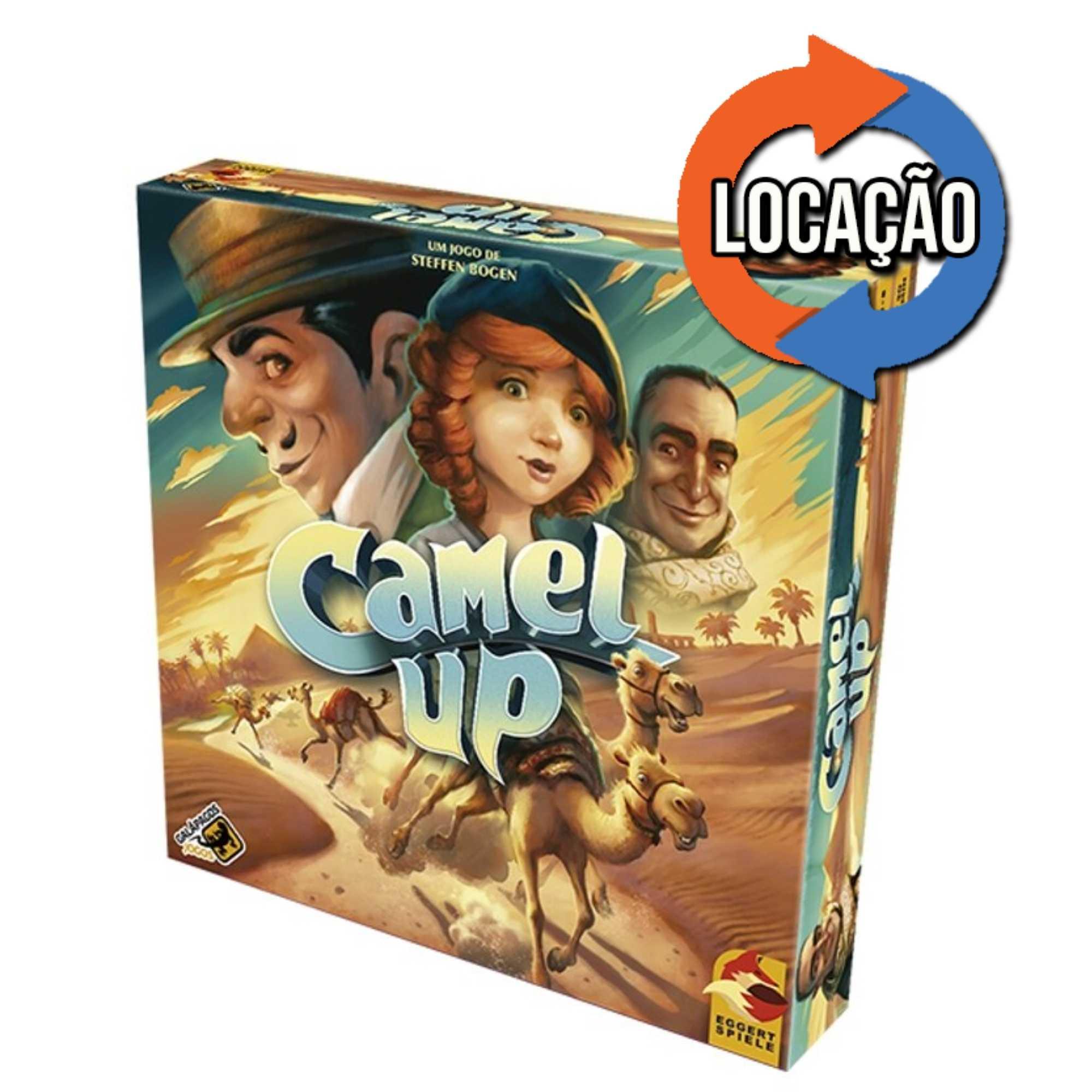 Camel Up (2ª Edição) (Locação)