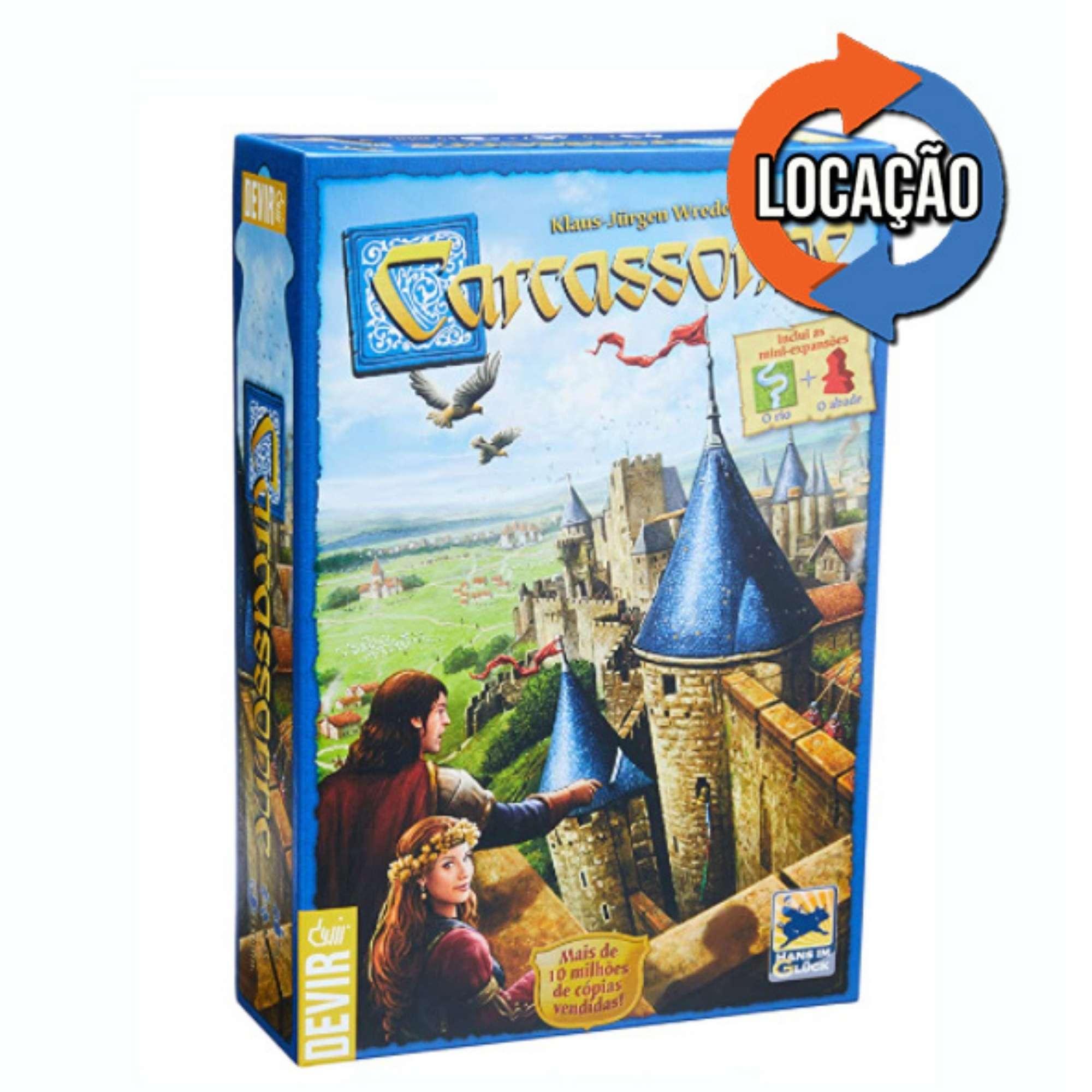 Carcassonne 2ª Edição (Locação)
