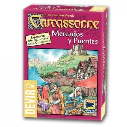 Carcassonne: Mercados e Pontes - Expansão