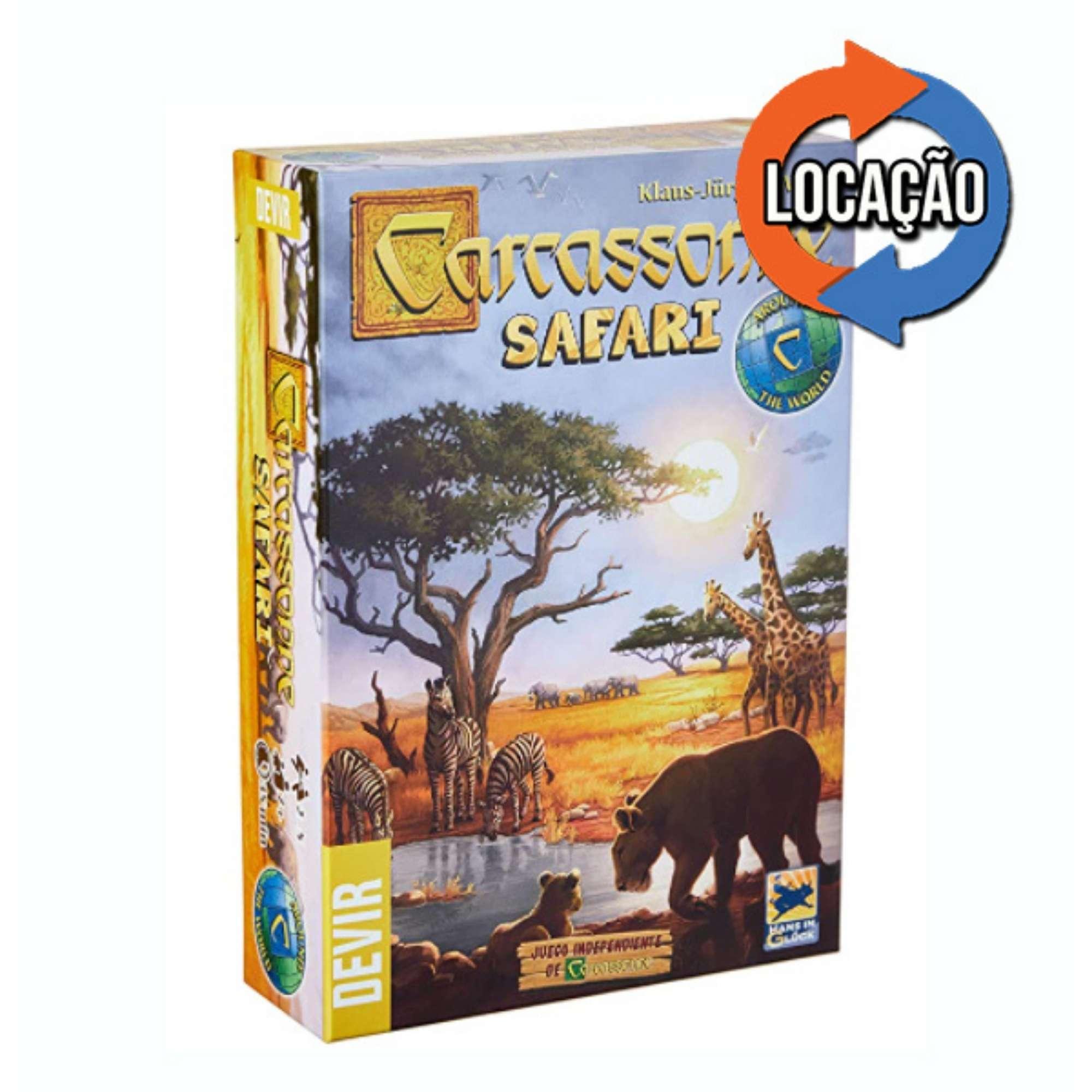 Carcassonne Safari (Locação)