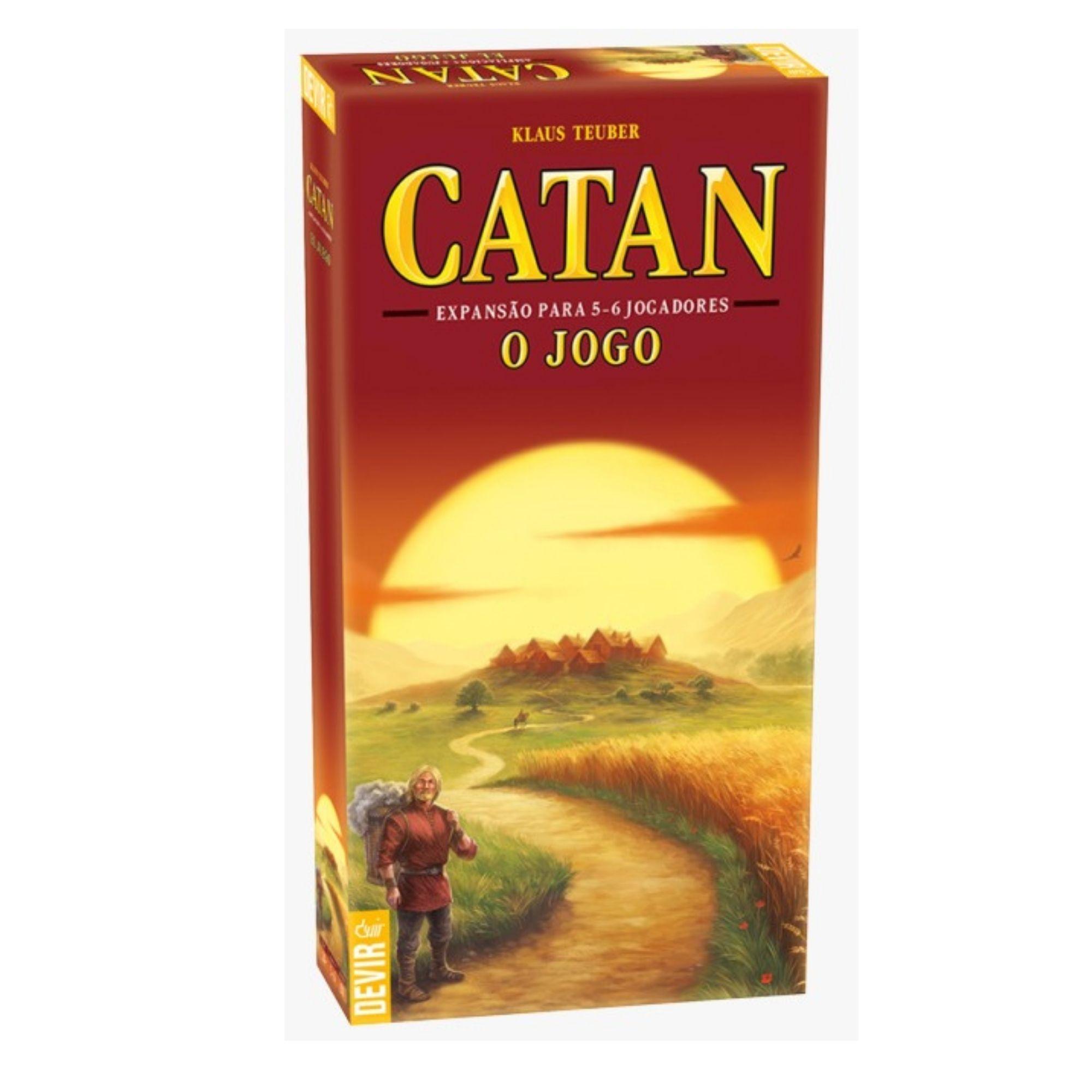 Catan 5 e 6 Jogadores - Expansão