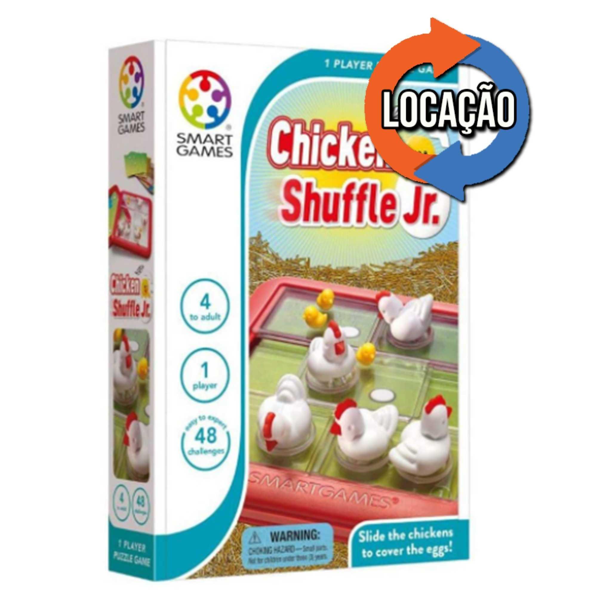Chicken Shuffle Jr - Smartgames (Locação)