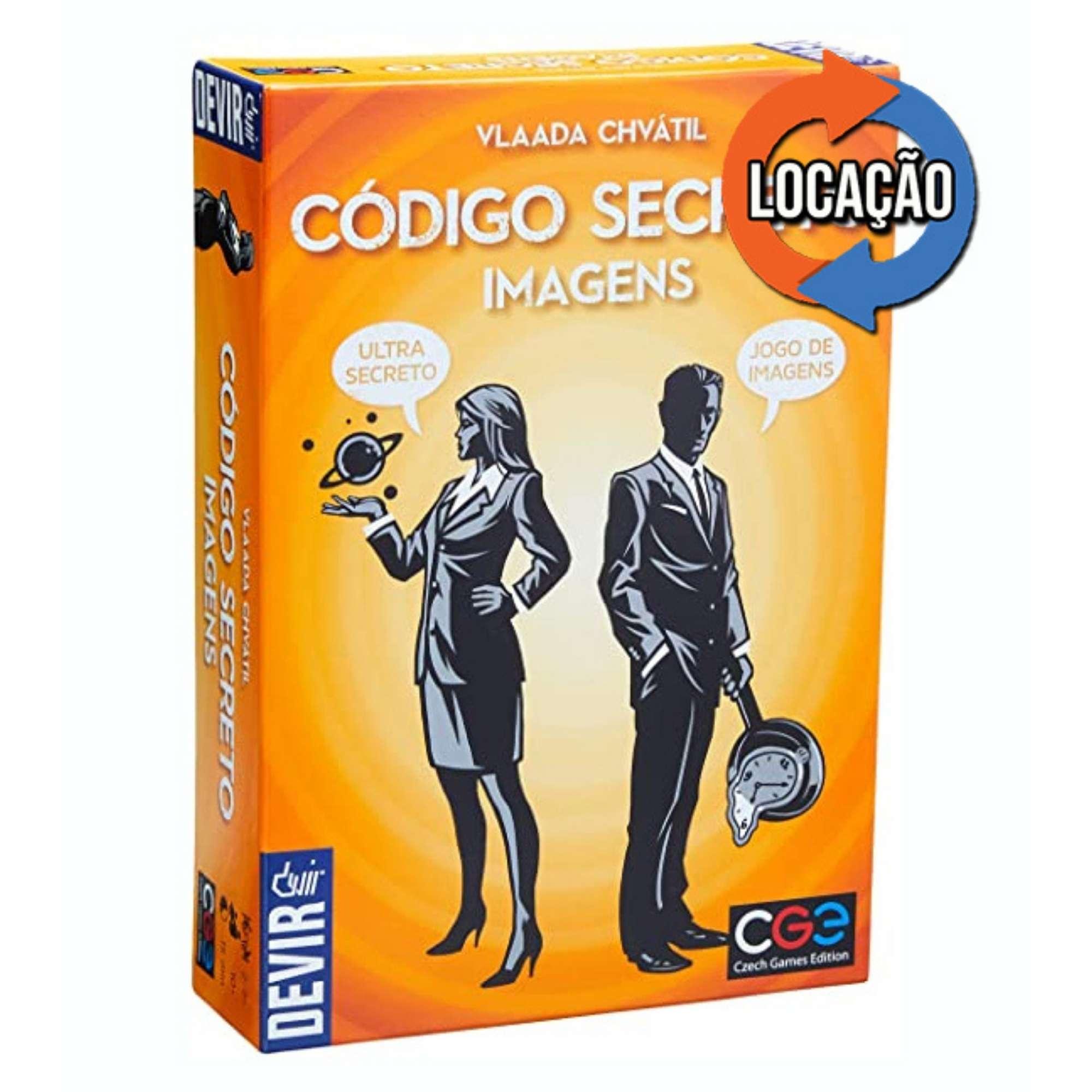 Código Secreto Imagens (Locação)