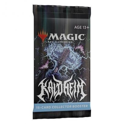 Collector Booster Avulso Kaldheim (Inglês) - Magic: The Gathering