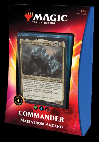 Commander 2020 Deck - Maelstrom Arcano - PORTUGUÊS Kalamax