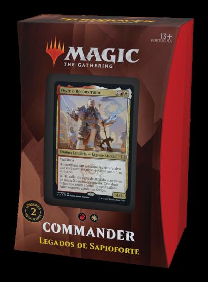 Commander 2021 - Legados de Sapioforte - Osgir - Strixhaven