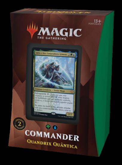 Commander 2021 - Quandrix Quântica - Adrix e Nev - Strixhaven
