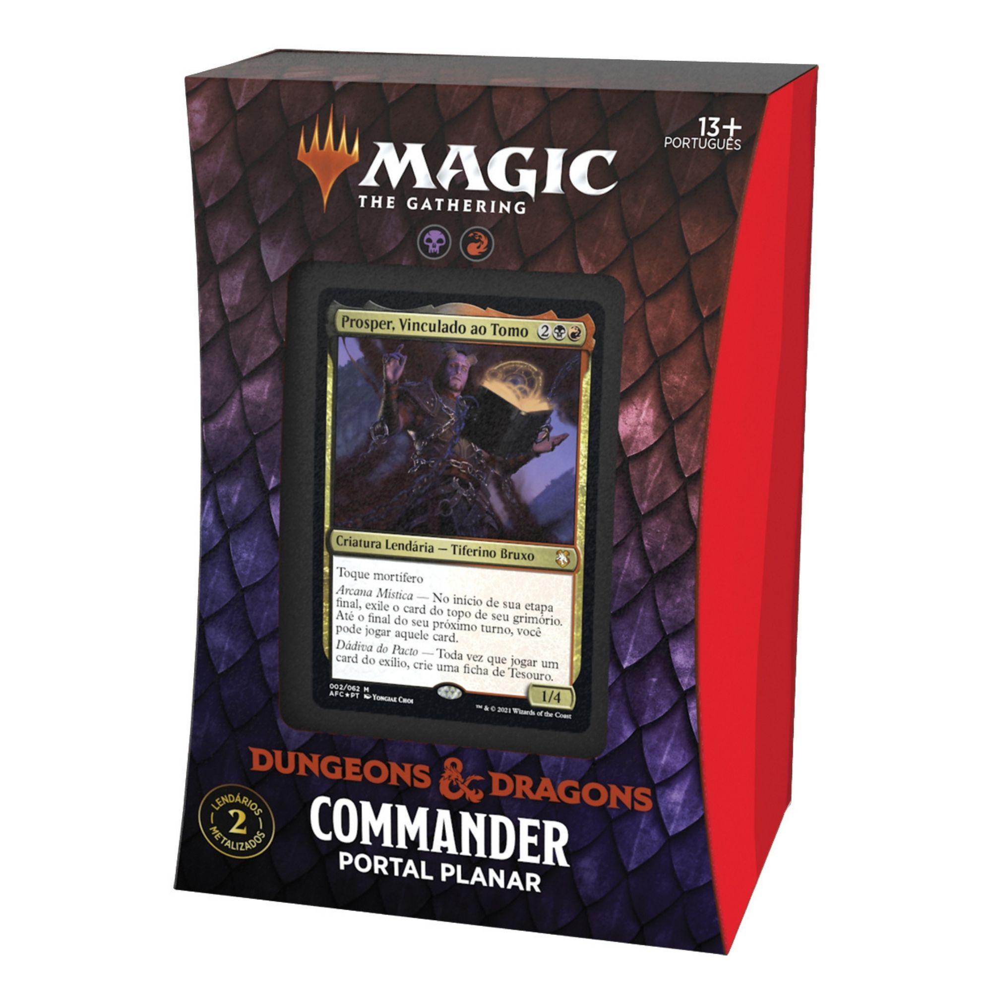Commander Adventures in the Forgotten Realms - Portal Planar - Português