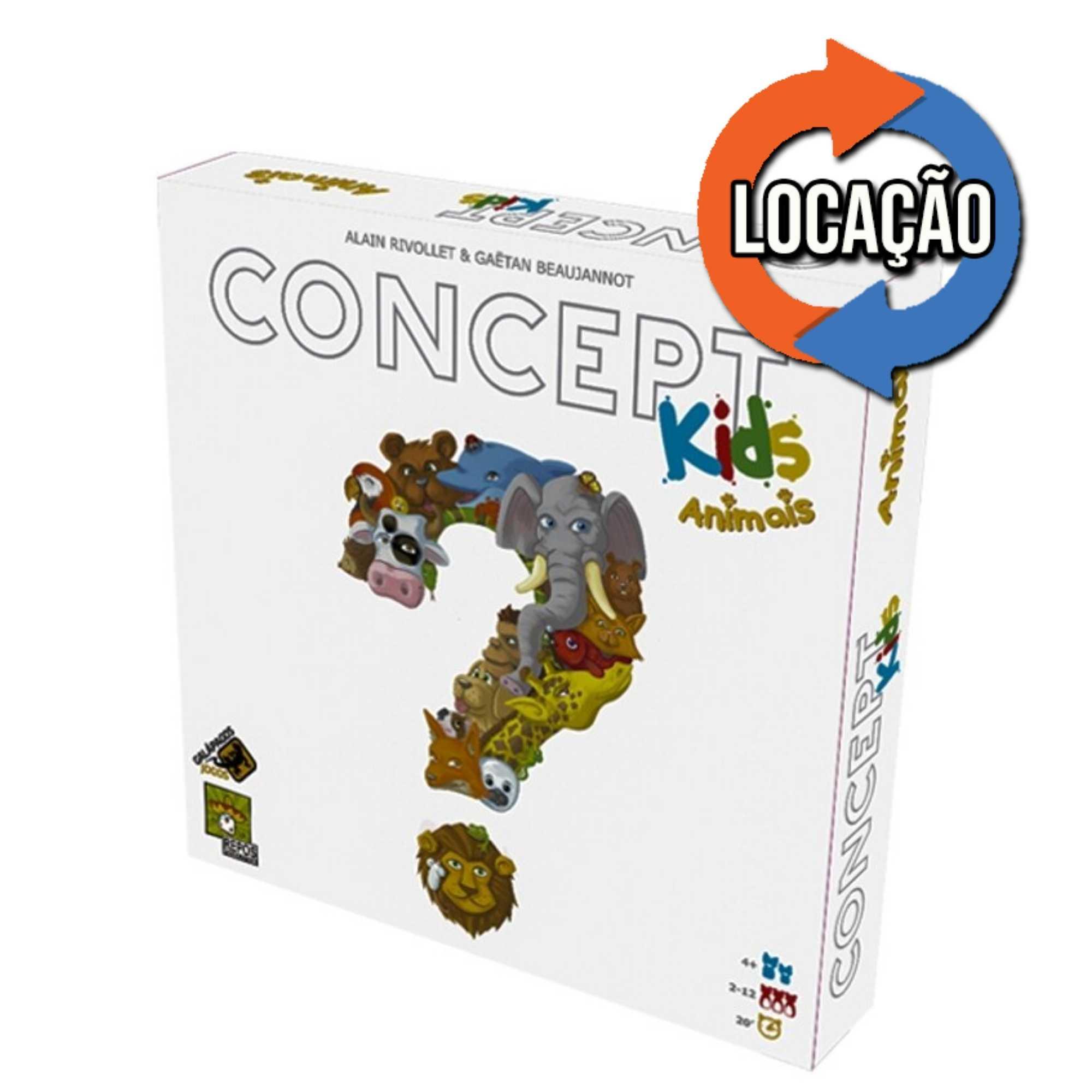 Concept Kids: Animais (Locação)