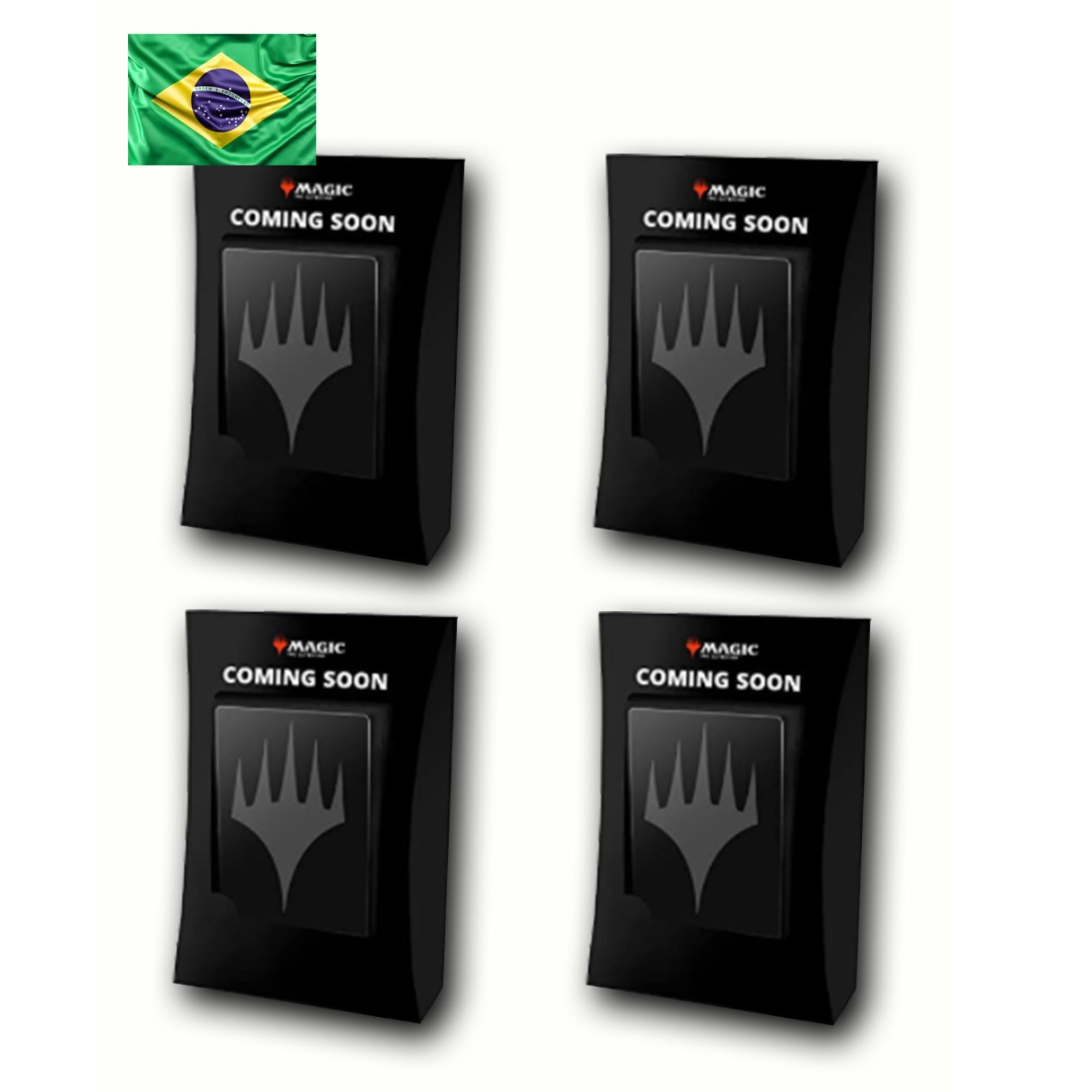 Conjunto 4 decks de Commander Adventures in the Forgotten Realms (Português)