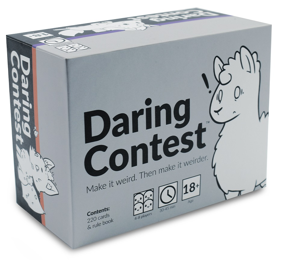Daring Contest Card Game + Promos - Unstable Games - Inglês
