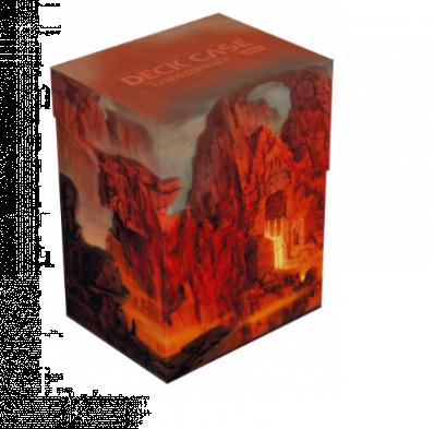 Deck Case Ultimate Guard 80+ Lands Edition 2 - Mountain