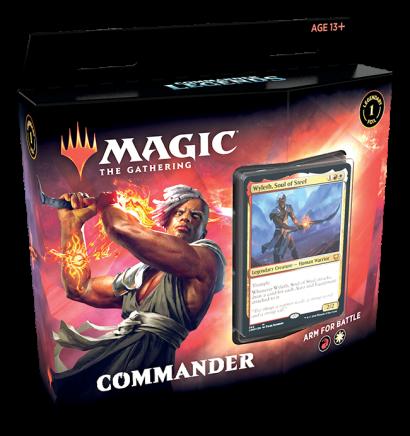 Deck de Commander - Arme-se para Batalha (RW) - Commander Legends
