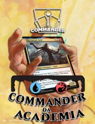 Deck de Commander O Deus Gafanhoto (Acessivel) - Academia de Jogos