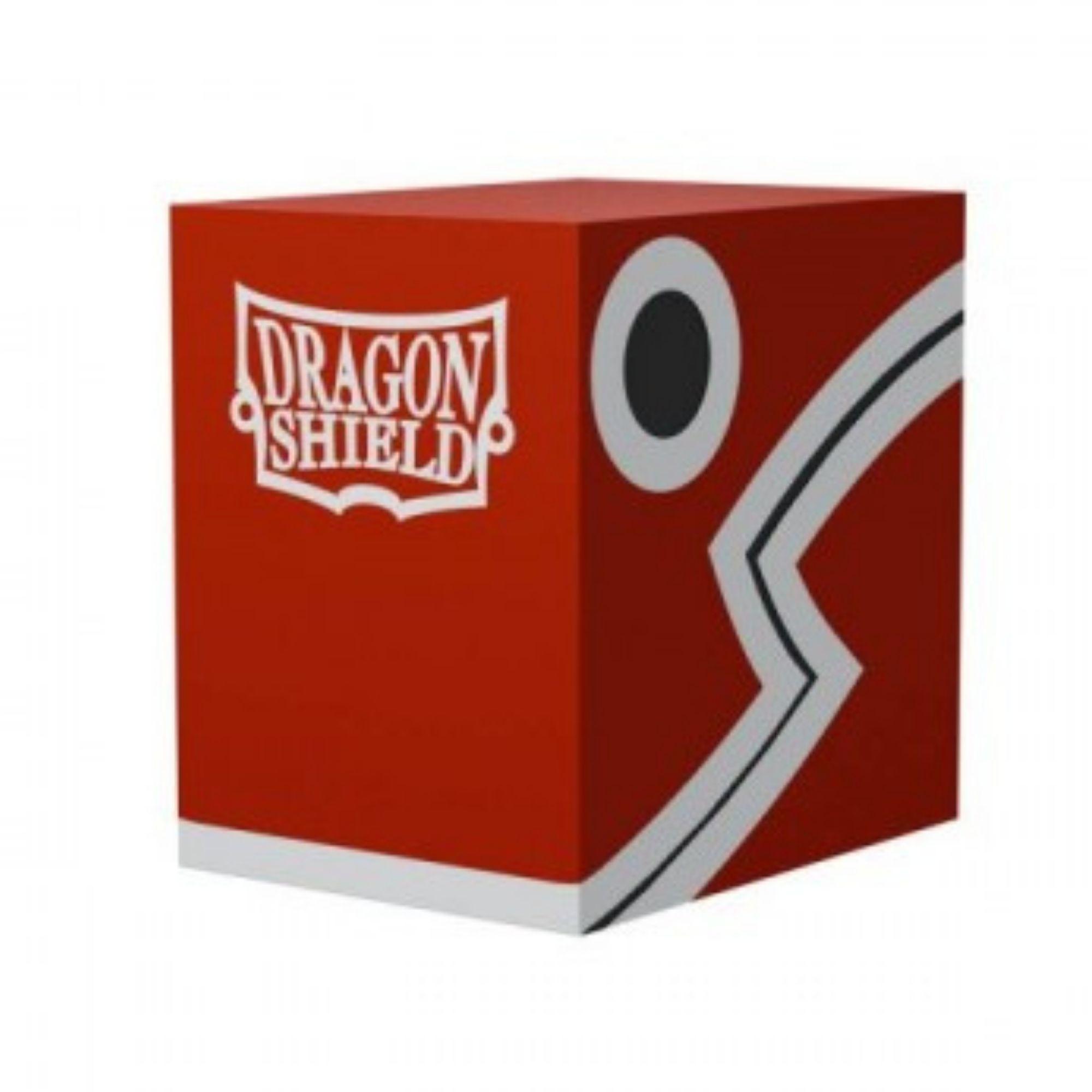 Deckbox Double Shell Vermelha 100+