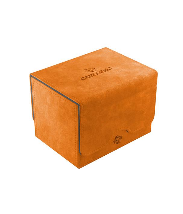 Deckbox Laranja Gamegenic Sidekick 100 Conversível