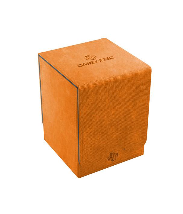 Deckbox Laranja Gamegenic Squire 100 Conversível