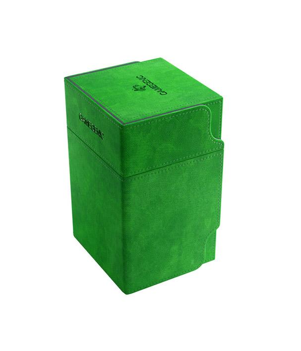 Deckbox Verde Gamegenic Watchtower 100+ Conversível