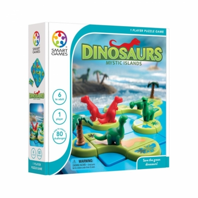 Dinosaurs Mystic Islands - Smartgames