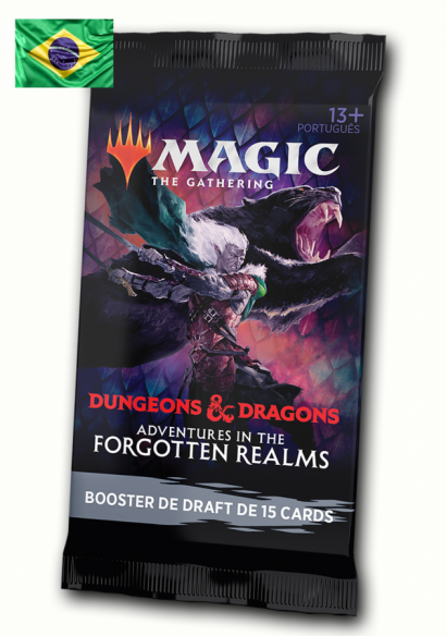 Draft Booster Avulso Adventures in the Forgotten Realms (Português)
