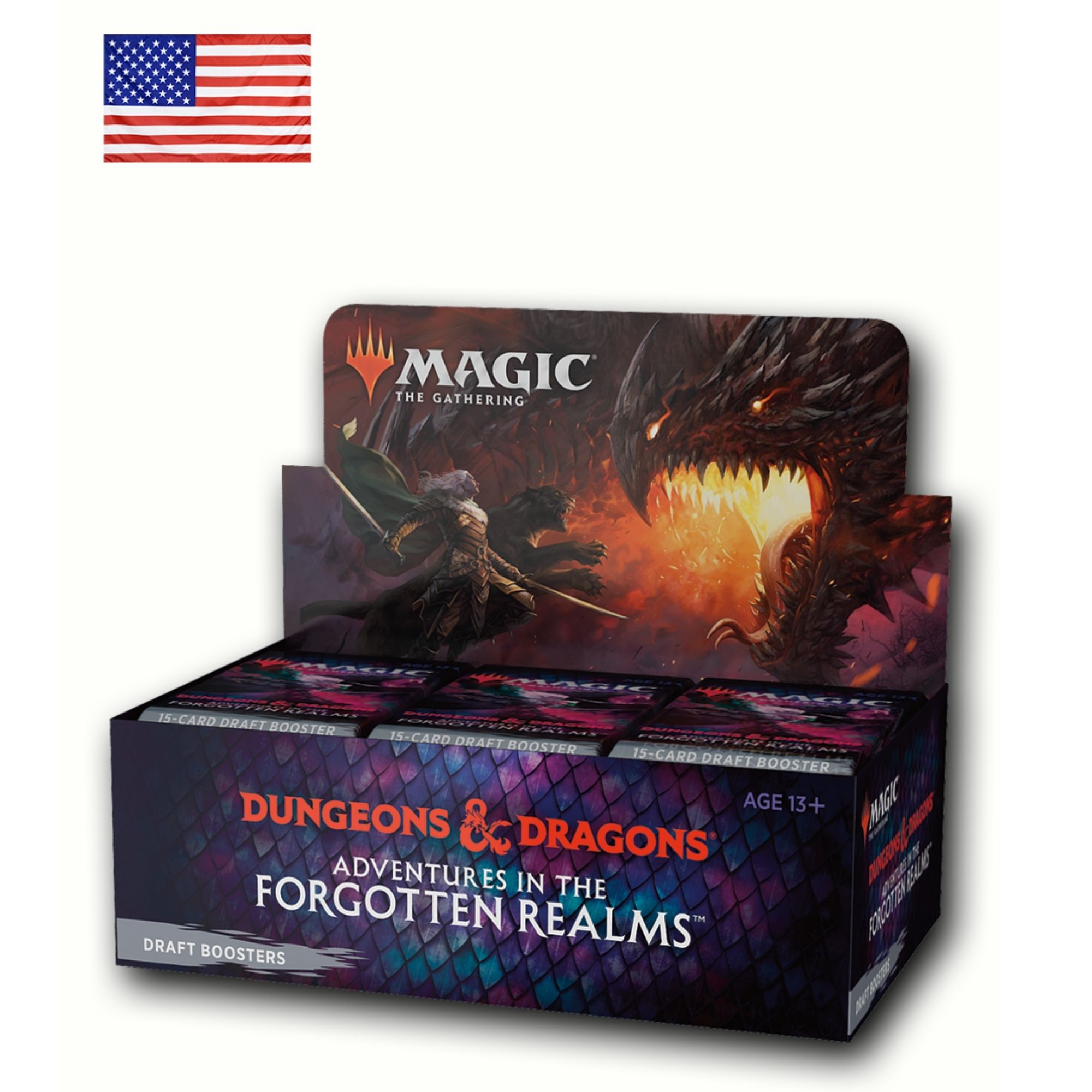 Draft Booster Box Adventures in the Forgotten Realms (Inglês)