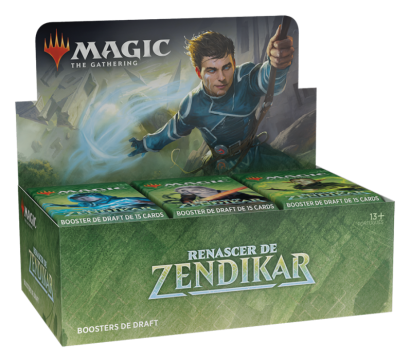Draft Booster Box Renascer de Zendikar (Português)