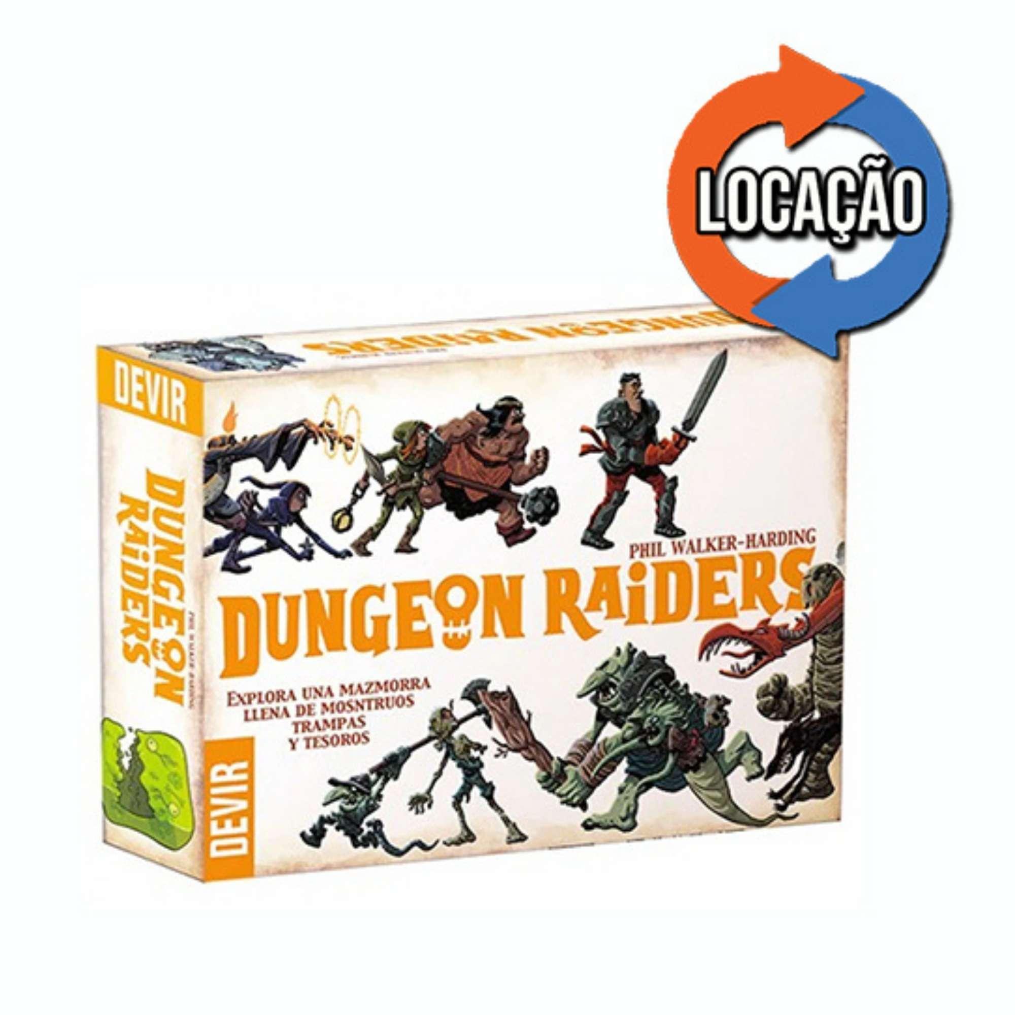 Dungeon Raiders (Locação)